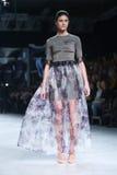 Défilé de mode de Bipa : Aman, Zagreb, Croatie Photographie stock libre de droits