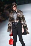 Défilé de mode de Bipa : PIÈCE d'envie, Zagreb, Croatie Images libres de droits