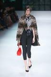 Défilé de mode de Bipa : PIÈCE d'envie, Zagreb, Croatie Image libre de droits