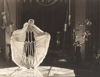 défilé de mode des années 1920 Images libres de droits