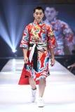 Défilé de mode du ` 2017 de semaine de mode de Vientiene wow de ` Photographie stock