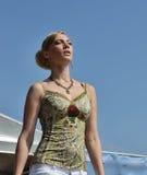 Défilé de mode israélien à St Petersburg Images stock