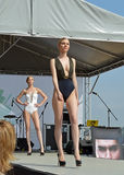 Défilé de mode israélien à St Petersburg Photo libre de droits