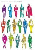 Défilé de mode pour le modèle de l'homme Images libres de droits