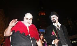 Défilé de New York Halloween image stock