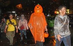 Défilé de New York Halloween image libre de droits