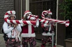 Défilé de Noël à Hollywood Images libres de droits