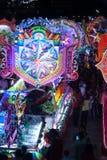 Défilé de Sakhon Nakhon de festival d'étoile de Noël en Thaïlande Photos stock