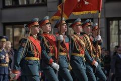 Défilé de victoire à St Petersburg Photographie stock