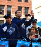 Défilé de Yankee - Andy Pettite Photo libre de droits