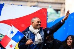 Défilé de Yankee - Mariano Rivera Photo libre de droits