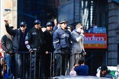 Défilé de Yankee - un Rod et un Jay Z Photo stock
