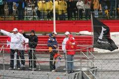 Défilé des gestionnaires F1 Photos libres de droits