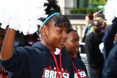 Défilé du jour de patrick de saint à Londres. Image libre de droits