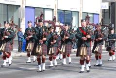 Défilé du jour de Patrick de saint, Ottawa Photo libre de droits