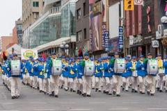 Défilé du jour de St Patrick à Toronto Photos stock