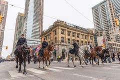 Défilé du jour de St Patrick à Toronto Photographie stock libre de droits
