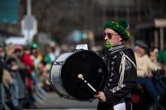 Défilé du jour de St Patrick photo stock