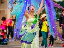 Défilé floral grand 2016 de Portland images libres de droits