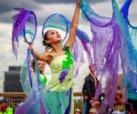 Défilé floral grand 2016 de Portland photos libres de droits