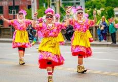 Défilé floral grand 2017 de Portland Photos stock