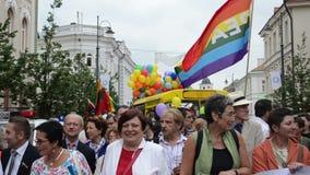Défilé gai de la politique clips vidéos