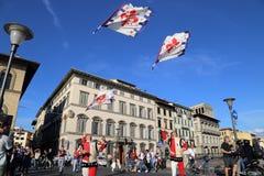 Défilé historique à Florence, Italie Images libres de droits