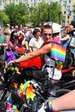 Défilé homosexuel Images stock
