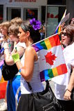 Défilé homosexuel 2011 de fierté de Toronto Photo stock