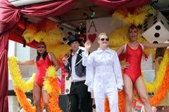 Défilé homosexuel de fierté à Manchester, R-U 2010 Photos stock