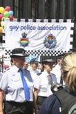 Défilé homosexuel de fierté Photo libre de droits