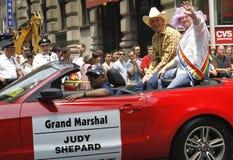 Défilé homosexuel de fierté de 2010 NYC Images libres de droits