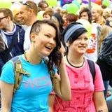 Défilé homosexuel de fierté de Helsinki Photos libres de droits