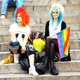 Défilé homosexuel de fierté de Helsinki Photo libre de droits