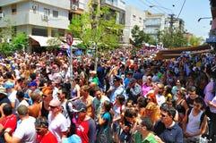 Défilé homosexuel de Tel Aviv 2010 Photos stock