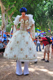 Défilé homosexuel de Tel Aviv 2010 Image libre de droits