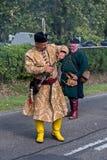 Défilé hongrois traditionnel de récolte le 11 septembre 2016 dans vi Image libre de droits