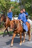 Défilé hongrois traditionnel de récolte le 11 septembre 2016 dans vi Photographie stock