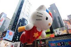Défilé le 26 novembre 2009 de jour de l'action de grâces de Macy Images libres de droits