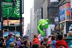 Défilé le 26 novembre 2009 de jour de l'action de grâces de Macy Photos libres de droits