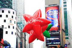 Défilé le 26 novembre 2009 de jour de l'action de grâces de Macy Photographie stock libre de droits