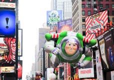 Défilé le 26 novembre 2009 de jour de l'action de grâces de Macy Photo libre de droits