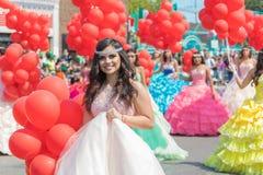 défilé mexicain Chicago de Jour de la Déclaration d'Indépendance de 26ème rue Image stock
