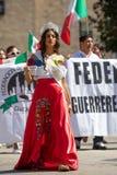 Défilé mexicain 2018 de Jour de la Déclaration d'Indépendance de Pilsen photo stock