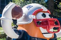 Défilé Mexico 2017 de boule de NFL Photos stock