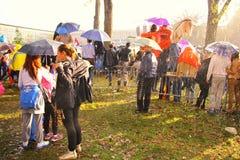 Défilé militaire à BELGRADE Image libre de droits