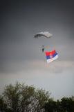 Défilé militaire à BELGRADE Image stock