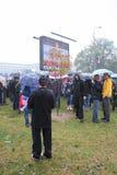 Défilé militaire à BELGRADE Photographie stock