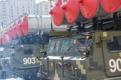 Défilé militaire à Kiev, Ukraine Photo stock