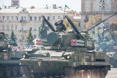 Défilé militaire à Kiev, Ukraine Photo libre de droits